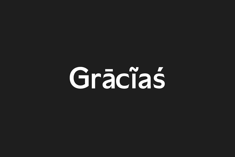 Daecca Sans Serif Font Family example image 9