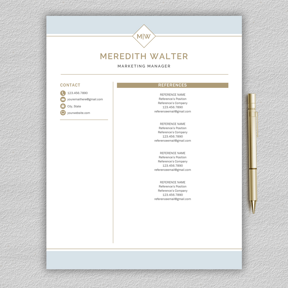 Resume Template / CV Templates, Professional Resume Template example image 6