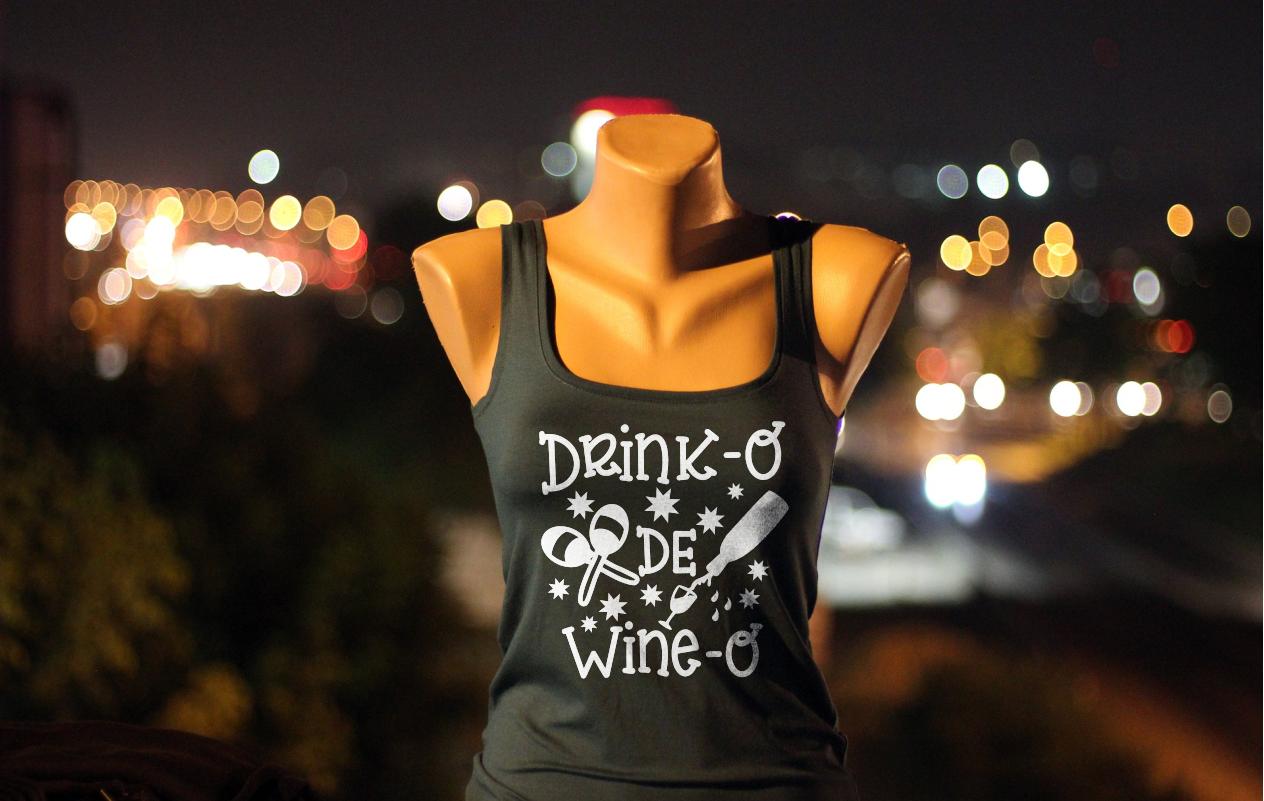 Drink-o de Wine-o - A Cinco De Mayo SVG example image 2