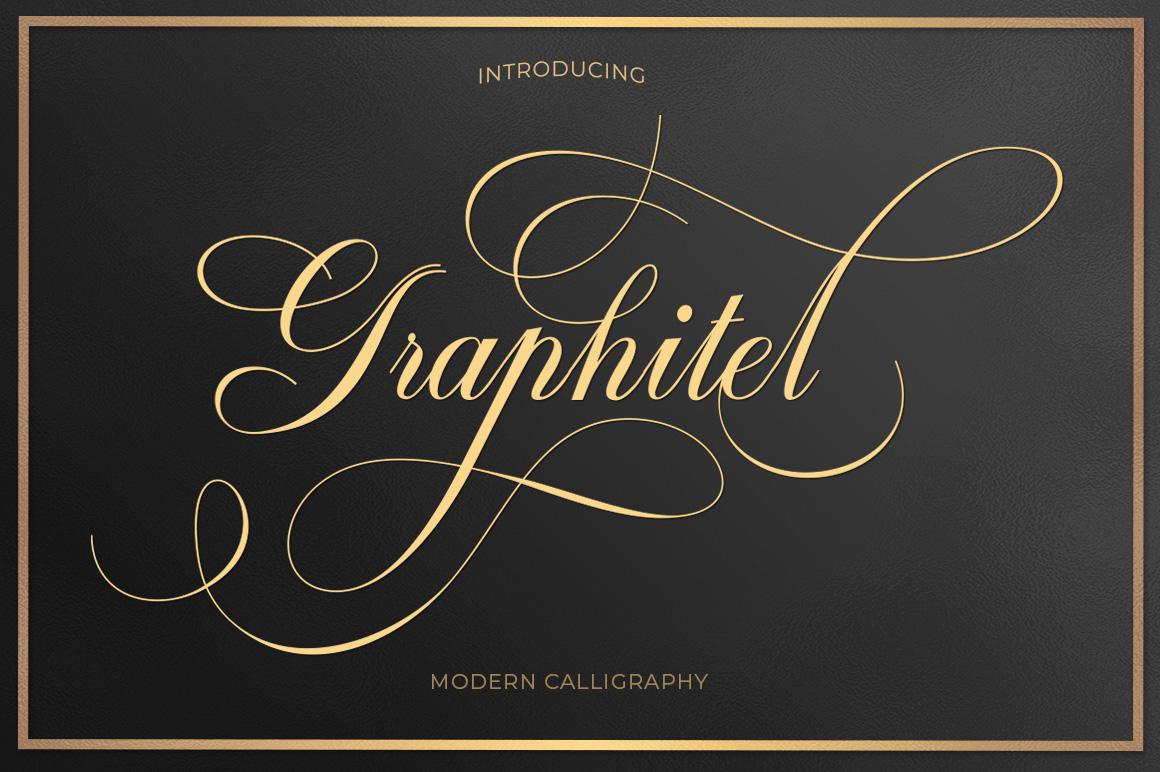Script Font Bundle example image 4