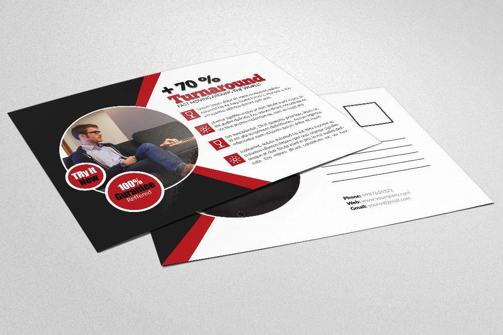 Business Postcards Templates example image 4