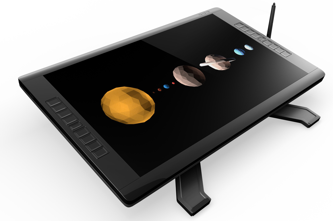 Wacom Graphic Screen Tablet Mockup example image 3