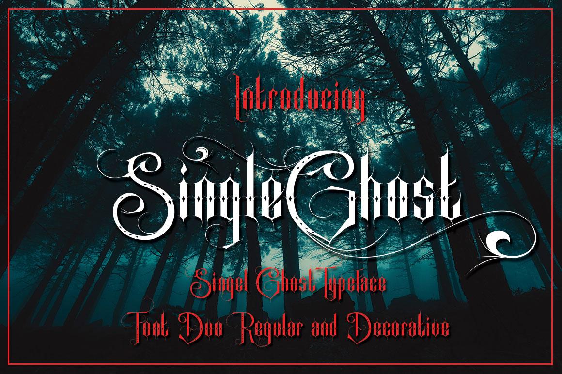 Singel Ghost example image 4