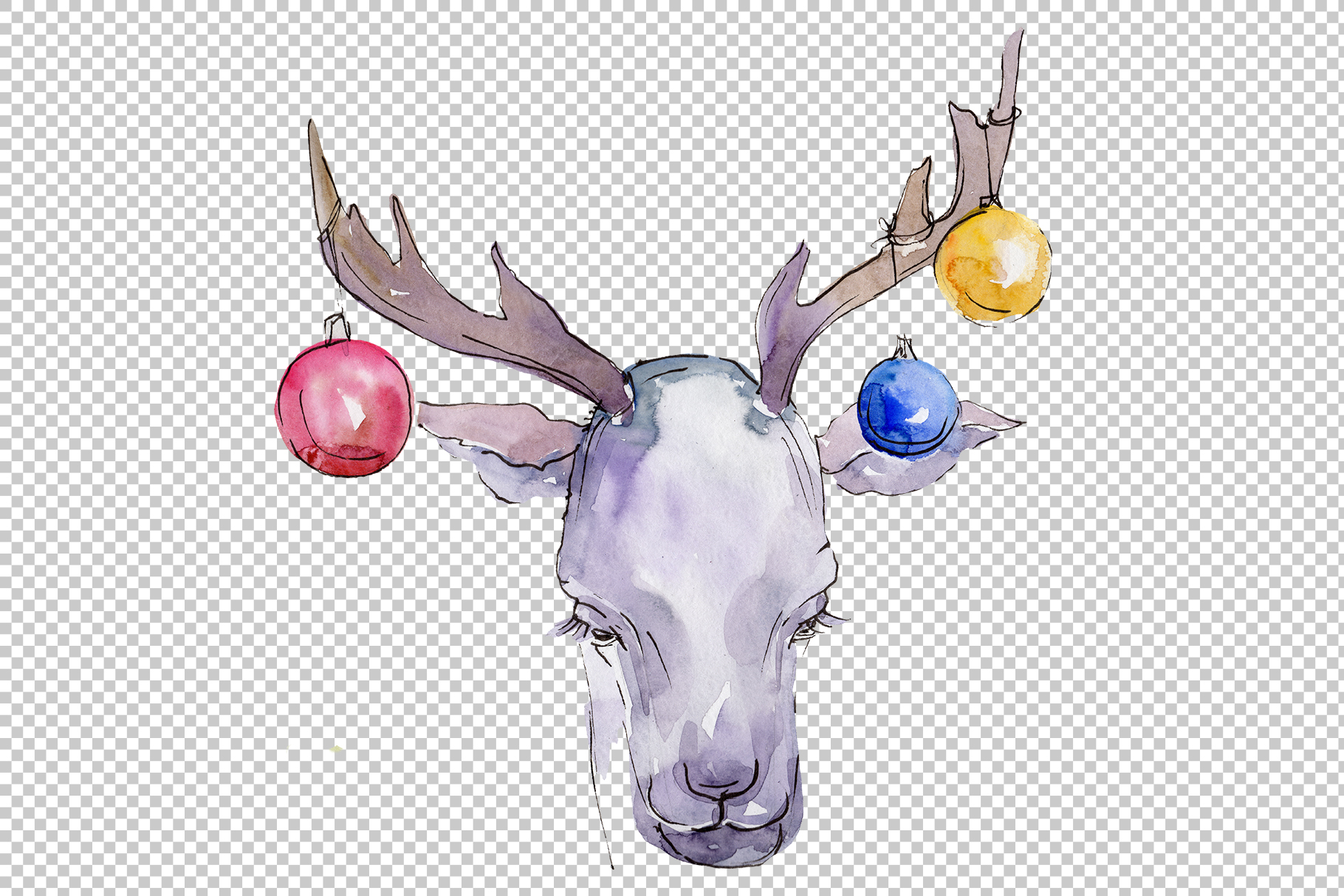 Christmas sweets watercolor png example image 6