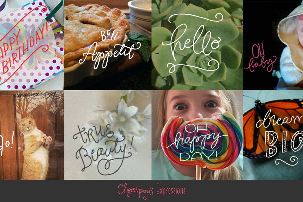Cherripops Expressions & Ribbons - 4 pack example image 2