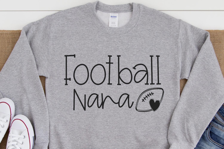 Football - Football Nana SVG example image 2