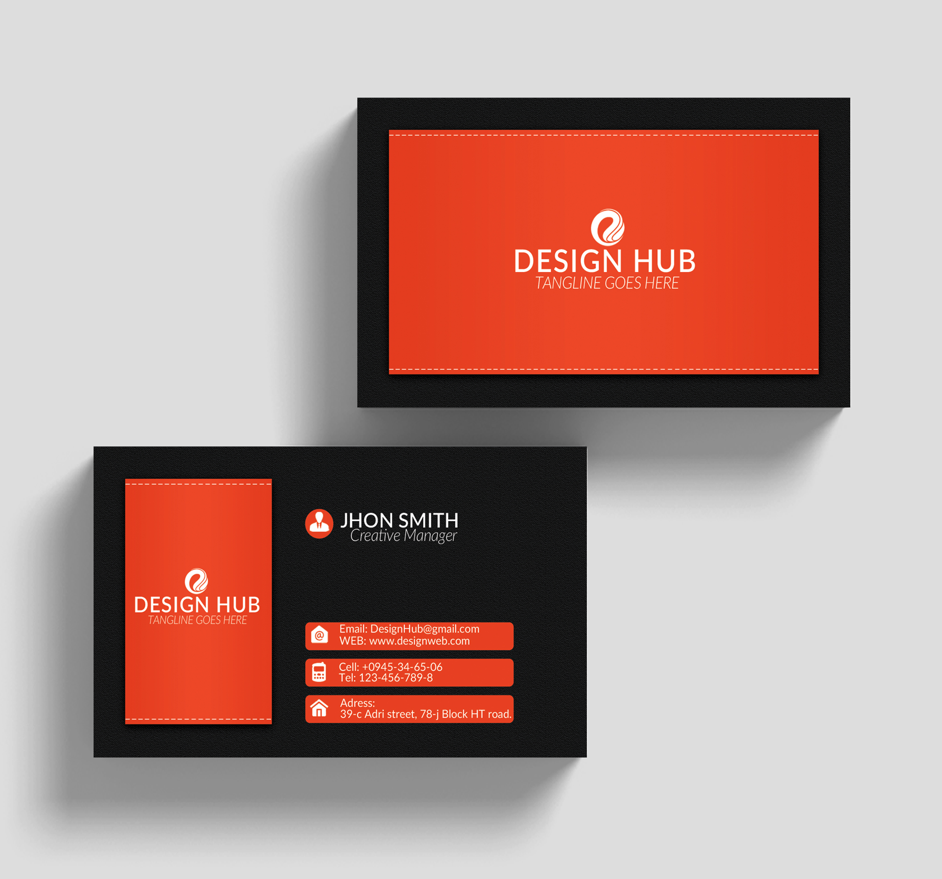 Pro Business Cards example image 3
