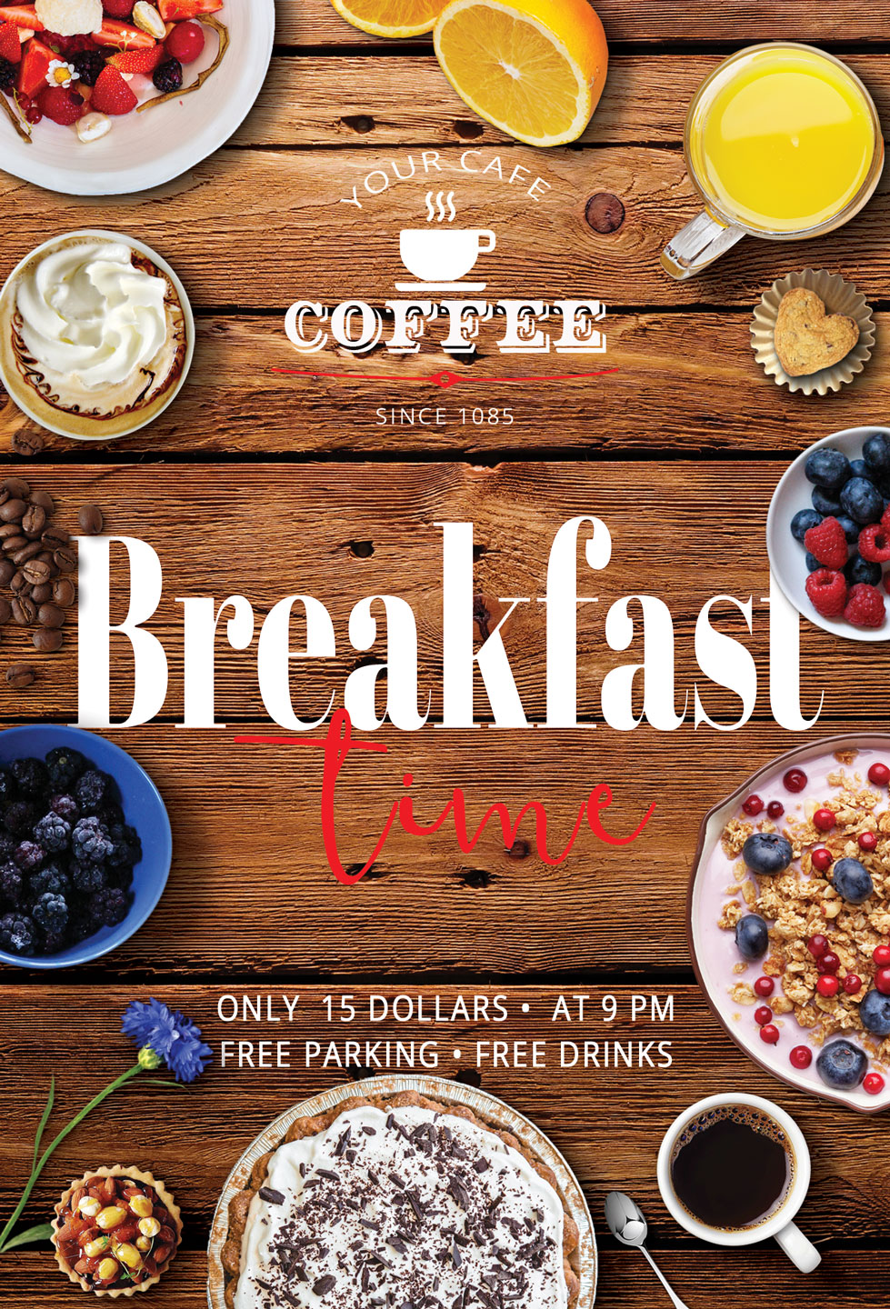 Breakfast Time Flyer example image 7