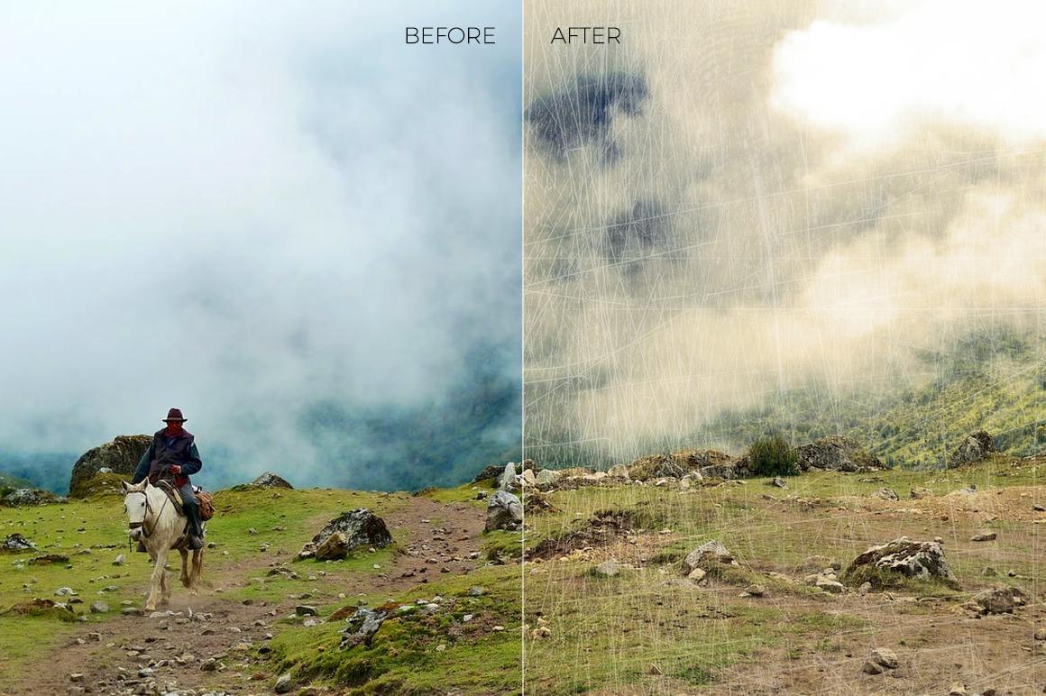 Grunge Texture Overlays example image 4