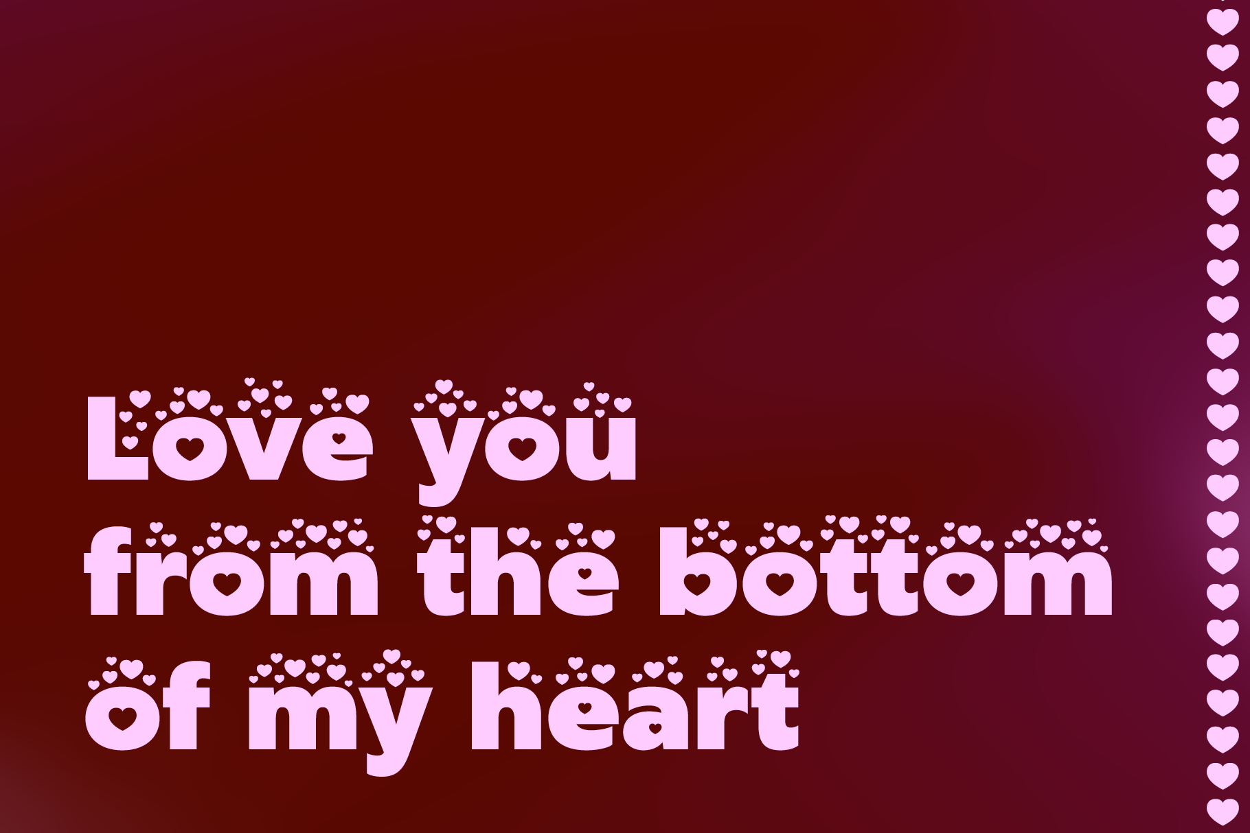 Lovebeat - Valentines Day Love Font example image 5