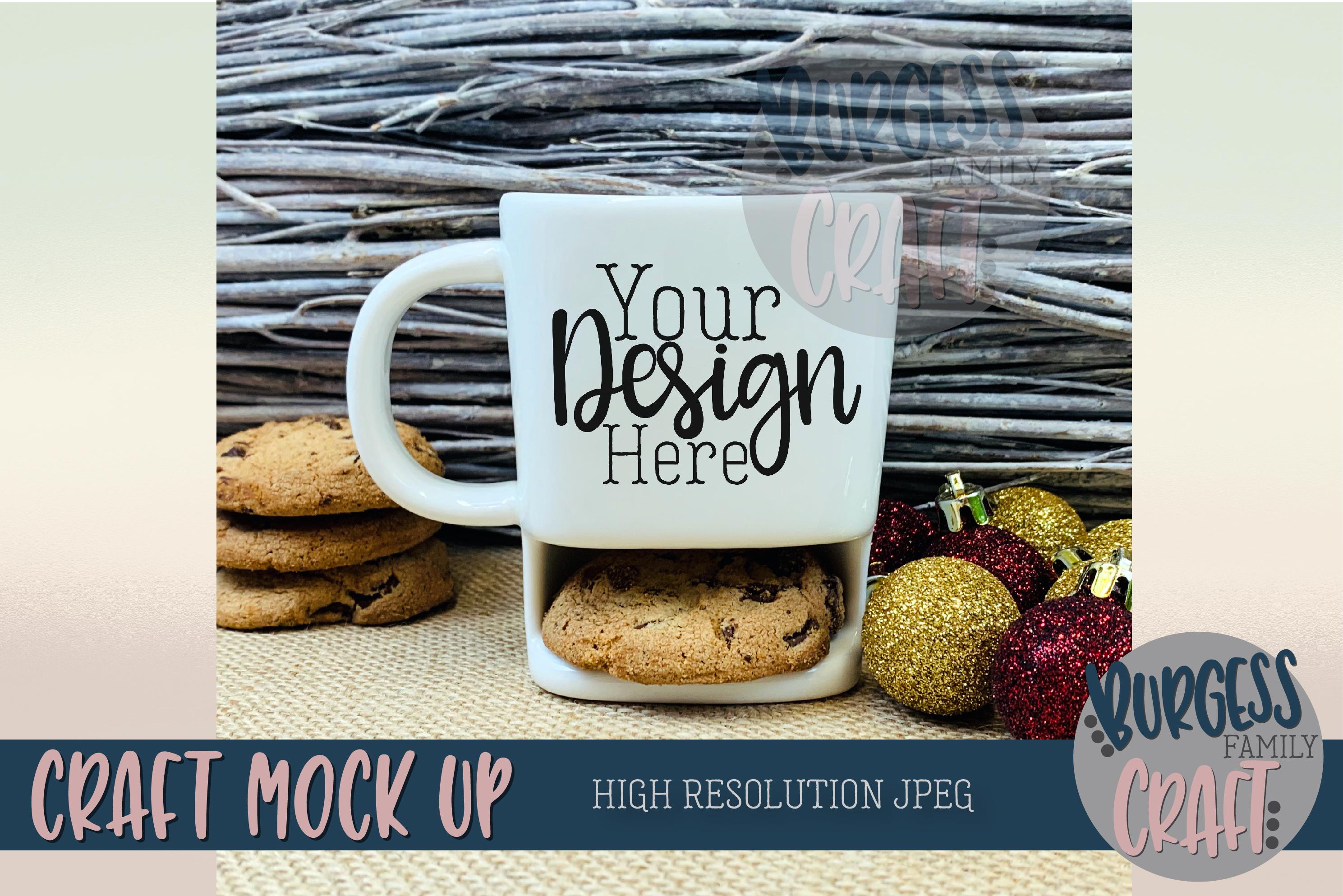 Christmas cookie mug Craft mock up |High Res JPEG example image 1
