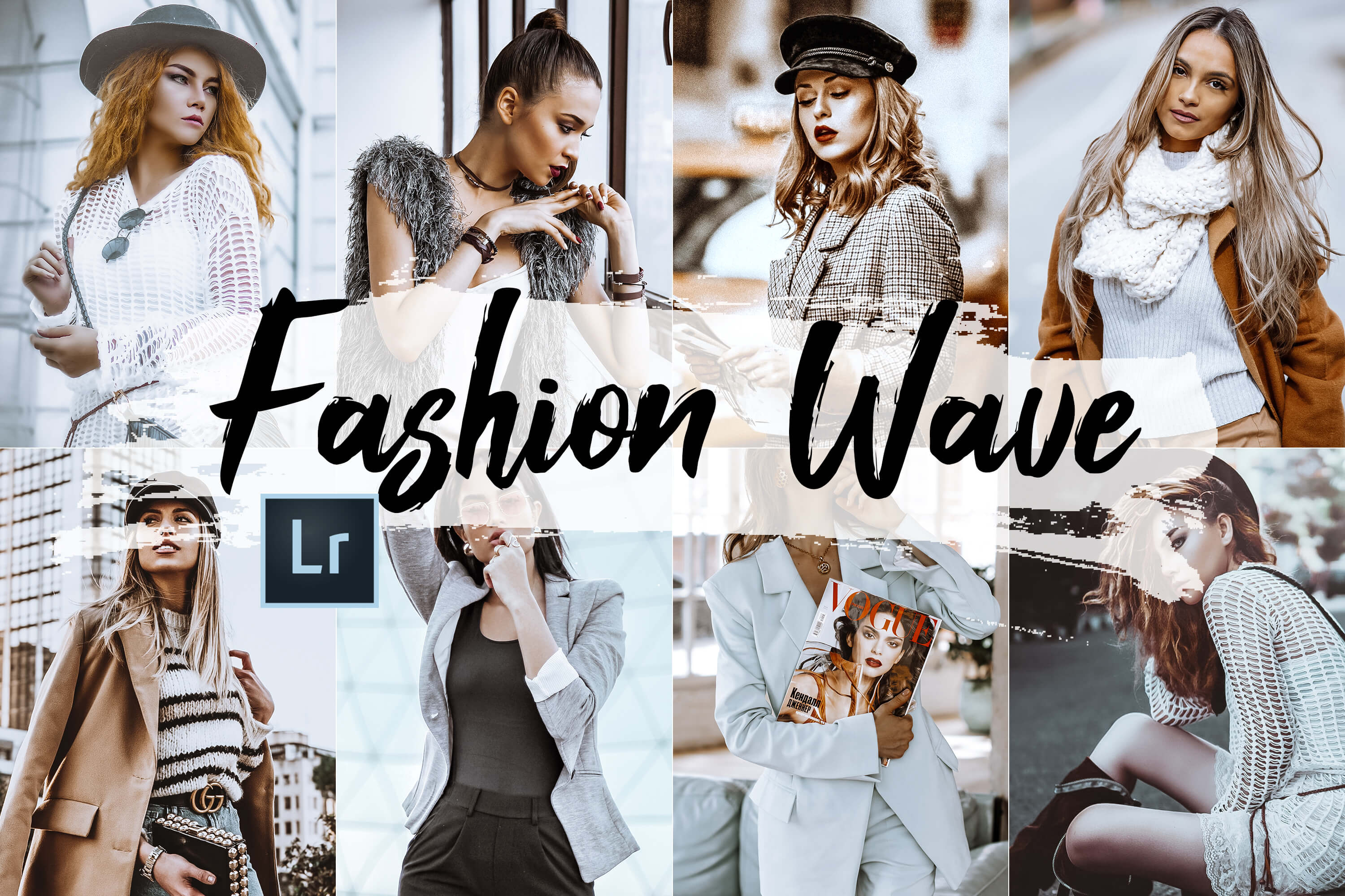 05 Fashion Wave Lightroom Presets and ACR preset vogue theme example image 1