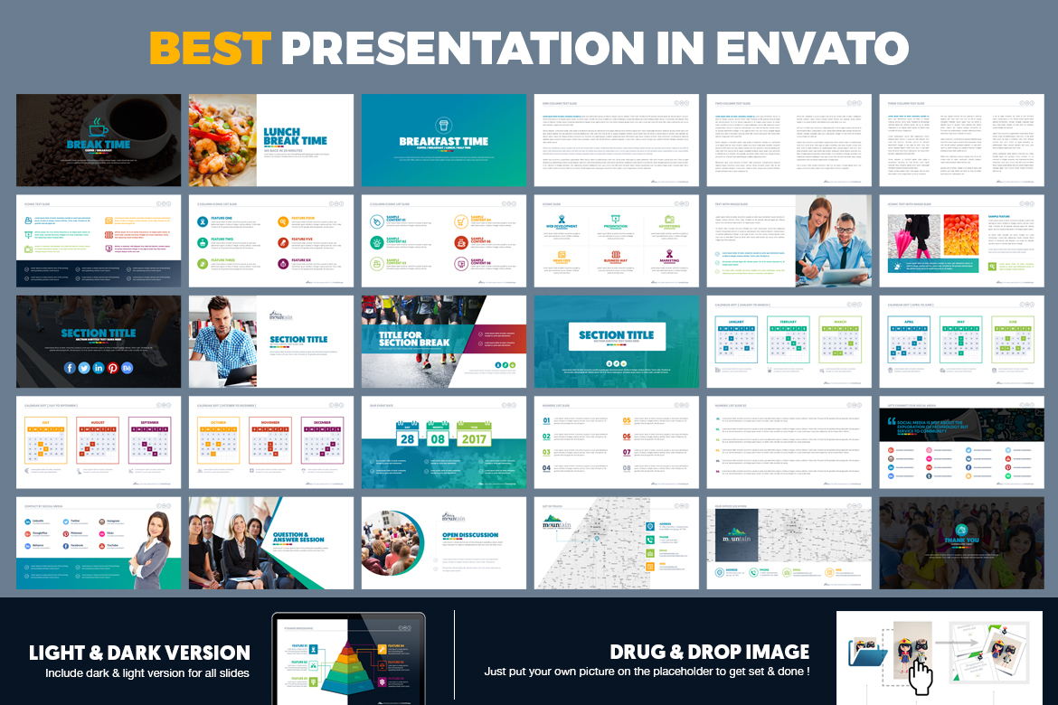 PowerPoint Presentation Template example image 15
