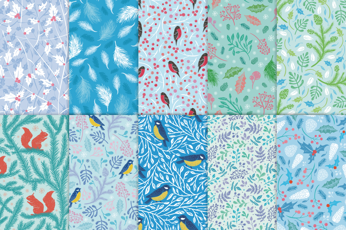 The first frosts patterns collection example image 2