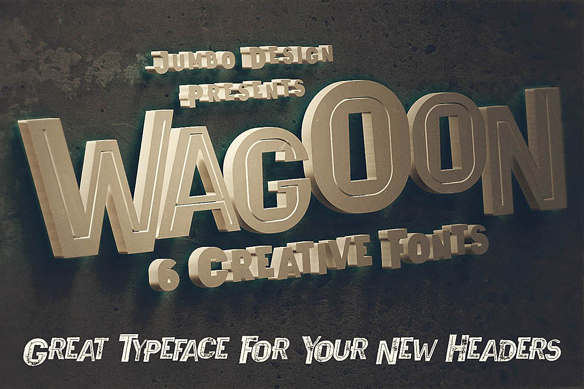 Wagoon - Funny Style Font example image 2