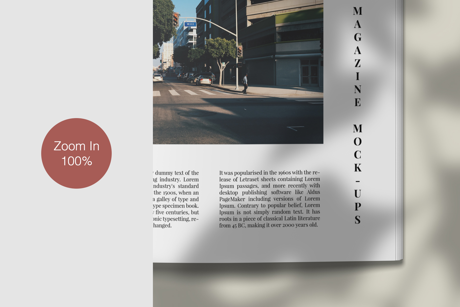 A4 and US Letter Magazines Mock-Ups example image 12