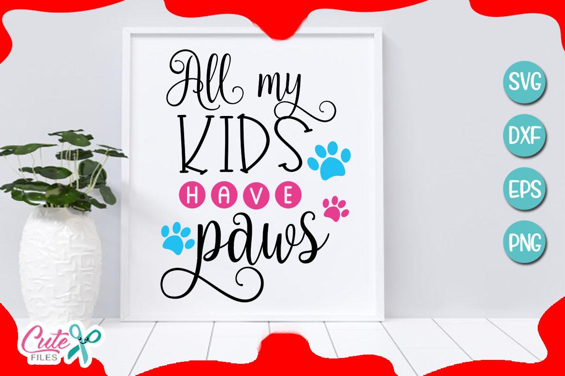 Mom of the dog bundle SVG cut file example image 7