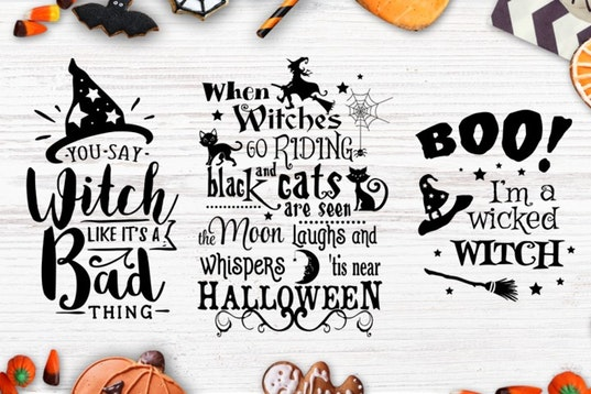 Halloween bundle 40 SVG , Eps, Dxf, Png for Cricu example image 6