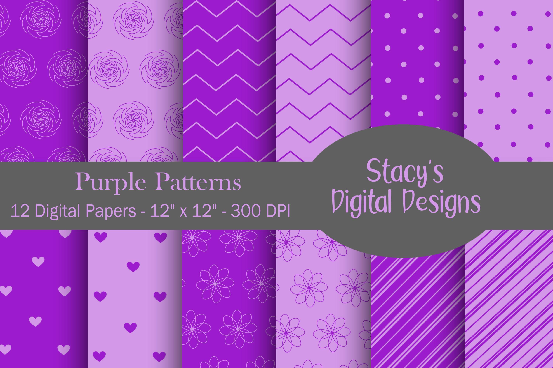 Digital Paper Bundle - 72 Digital Papers, patterns example image 3