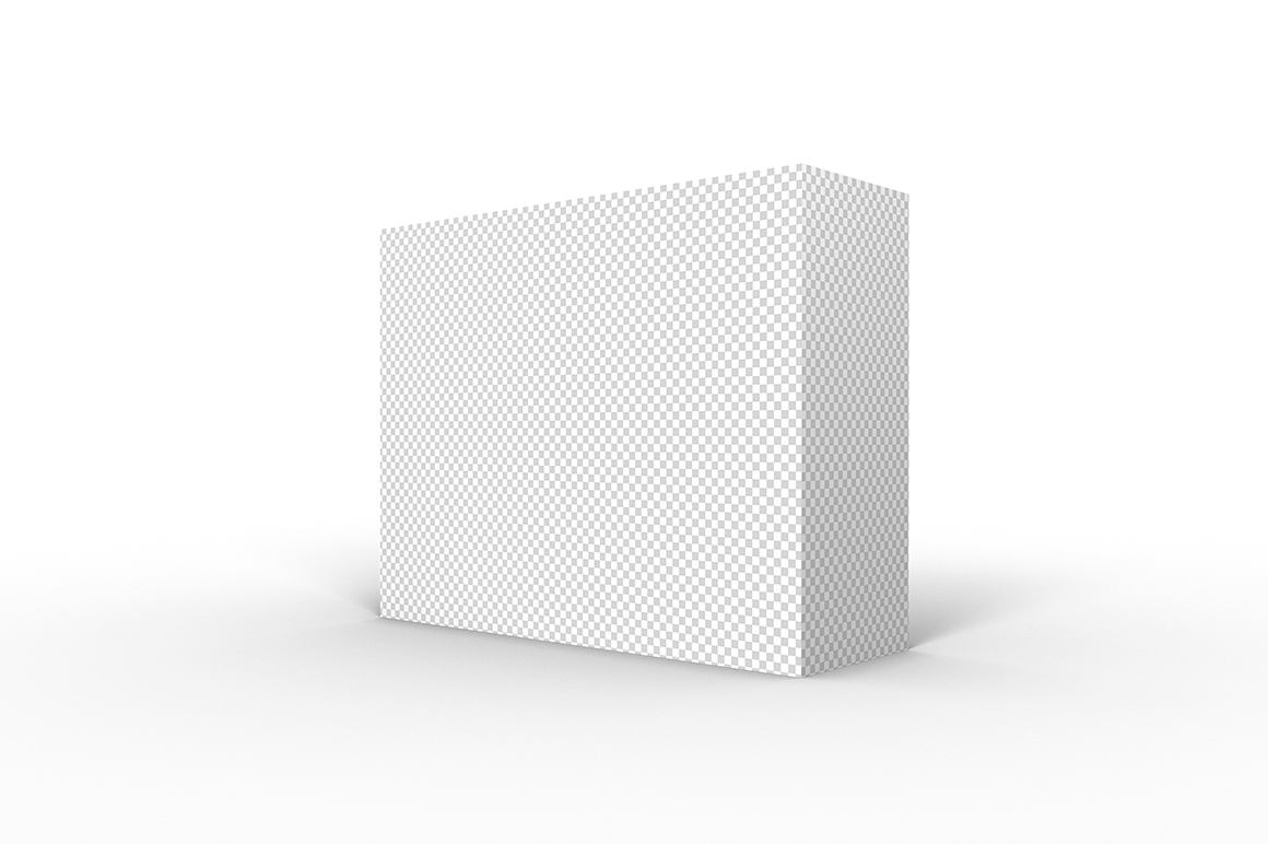 9.7.3 Simple 3D Box Mockup PSD example image 2