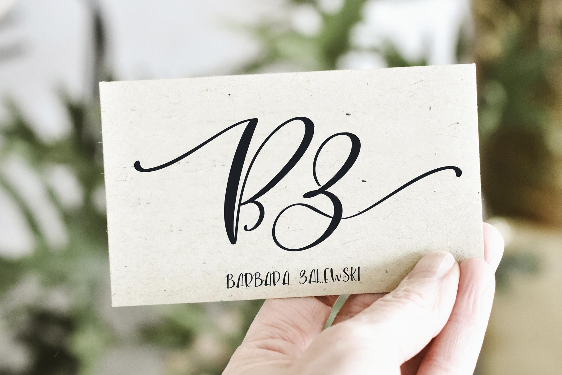 Blacksea Font Duo example image 2