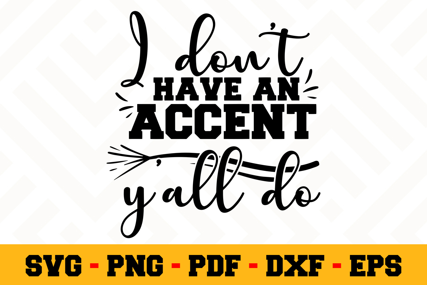 Southern SVG Design n655 | Southern SVG Cut File example image 1