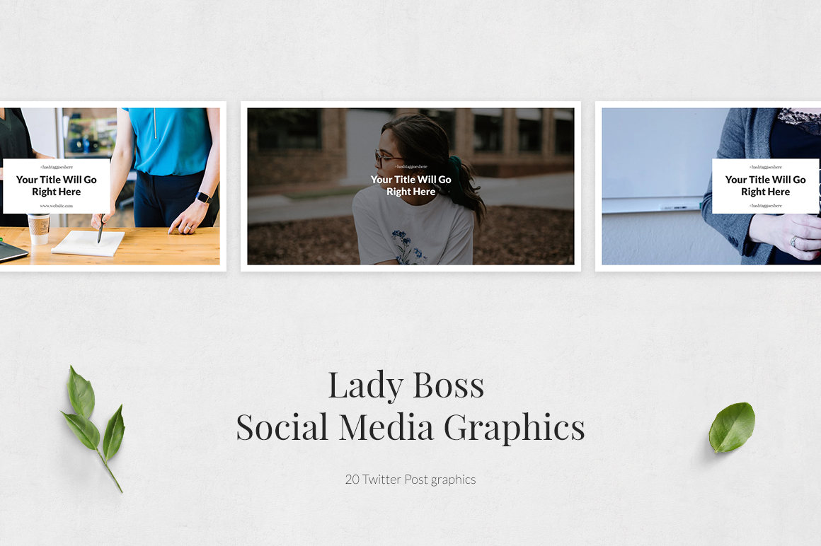Lady Boss Twitter Posts example image 2