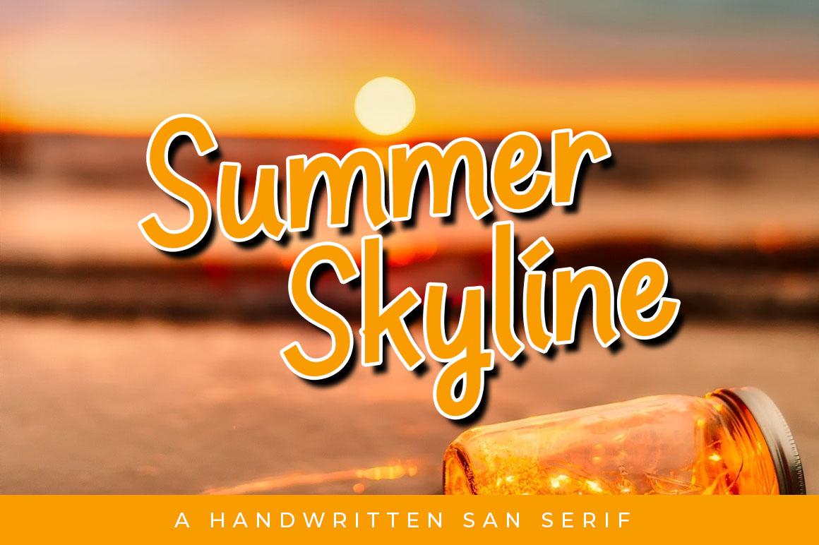 Summer Skyline example image 1