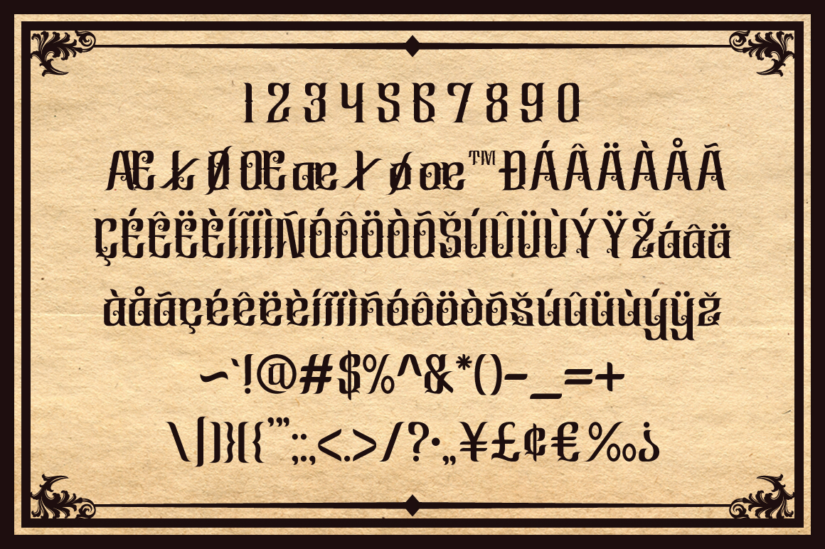Cindo Kato Typeface example image 5