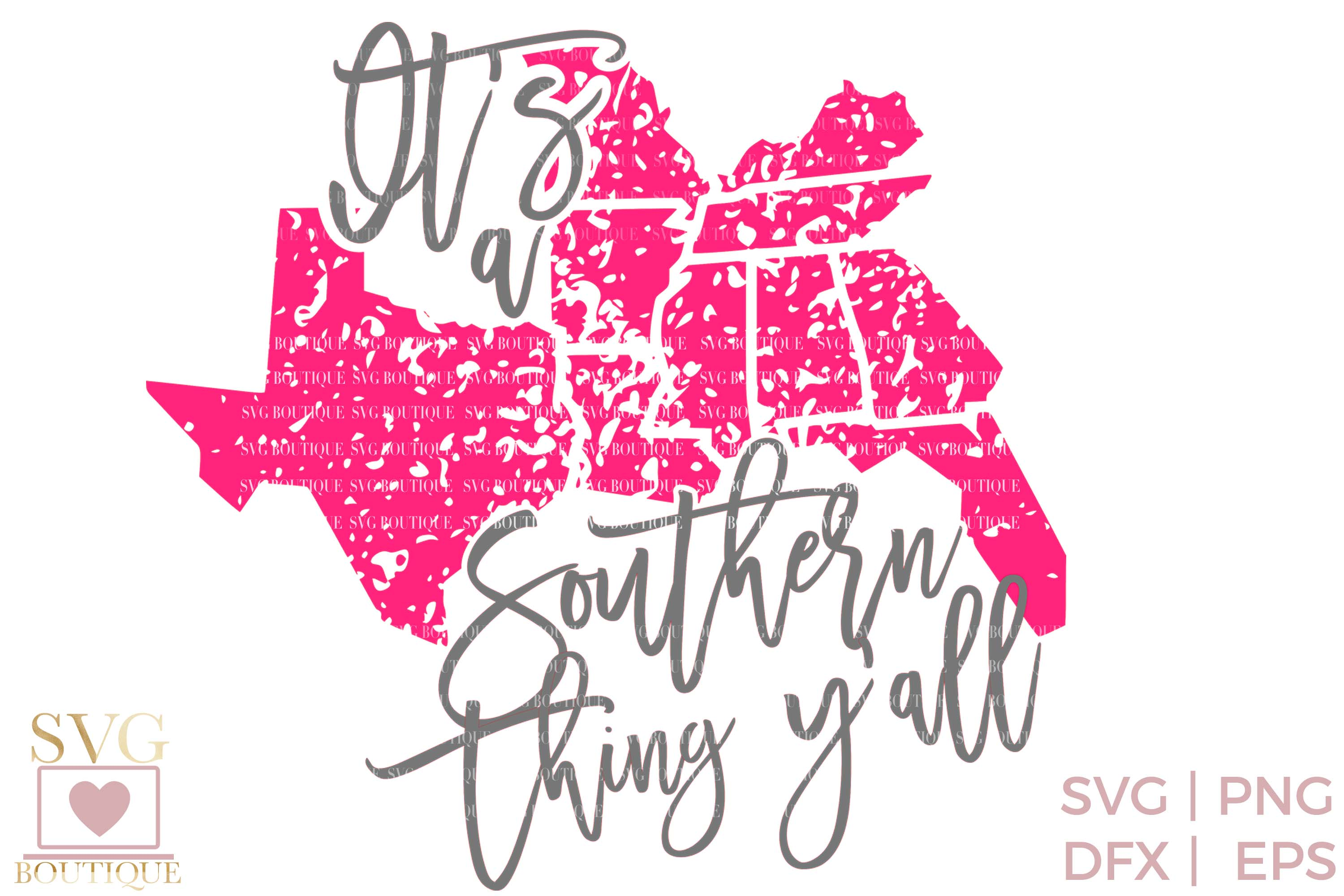 Southern Thing SVG PNG DFX - Sassy Country Crafting File example image 2