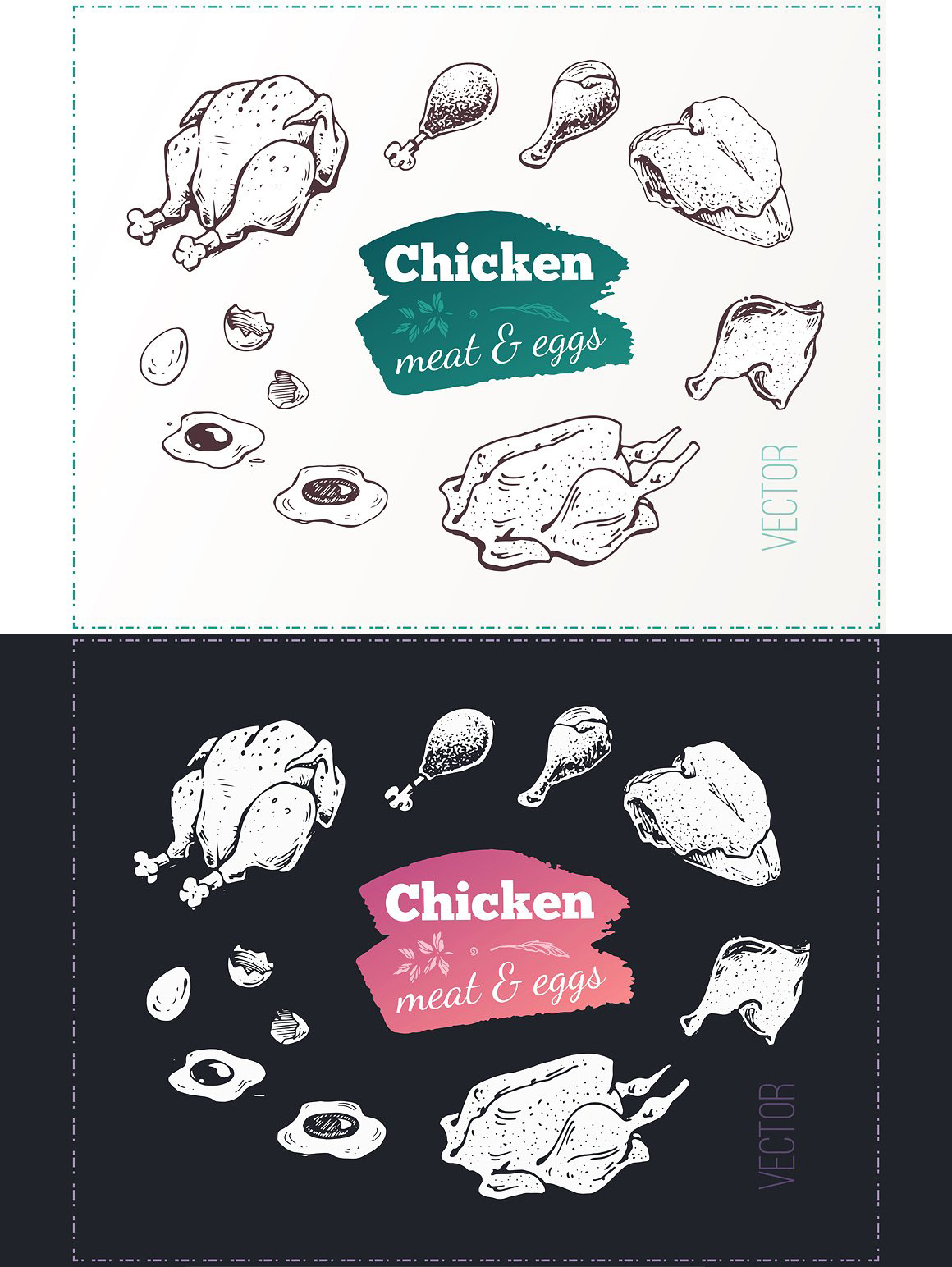 Hand drawn cooking and food icons example image 25