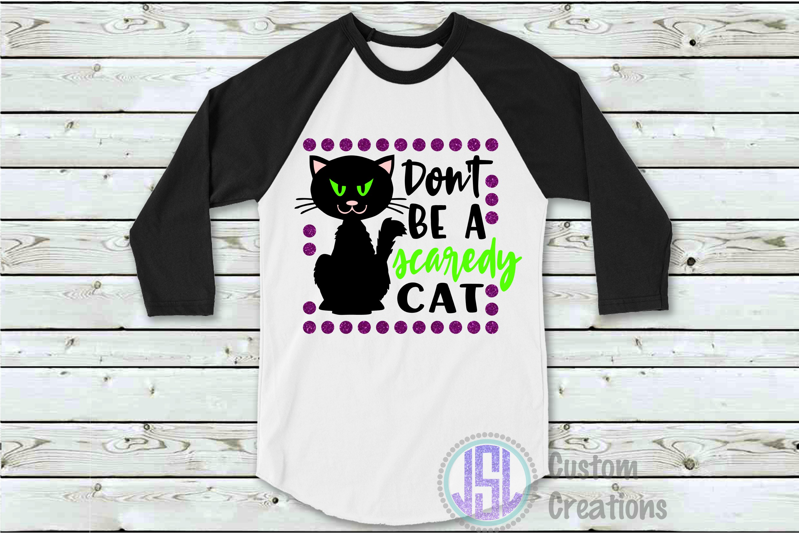 Don't Be a Scaredy Cat| SVG DXF EPS PNG Cut File example image 2