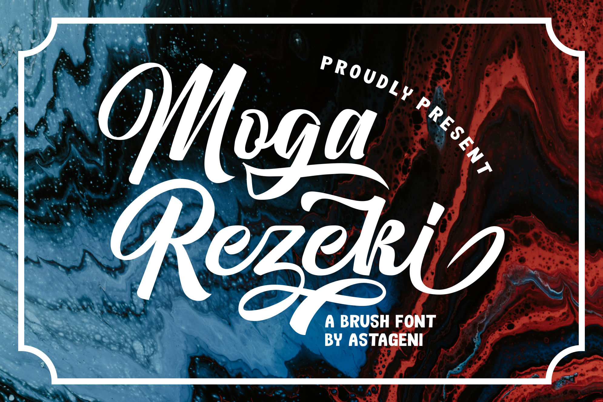 Moga Rezeki | Duo Font With Extra Swash example image 1