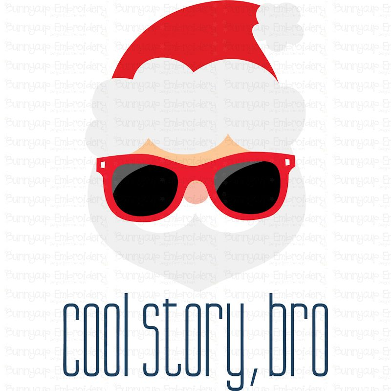 Cool Story, Bro - SVG, Clipart, Printable example image 2
