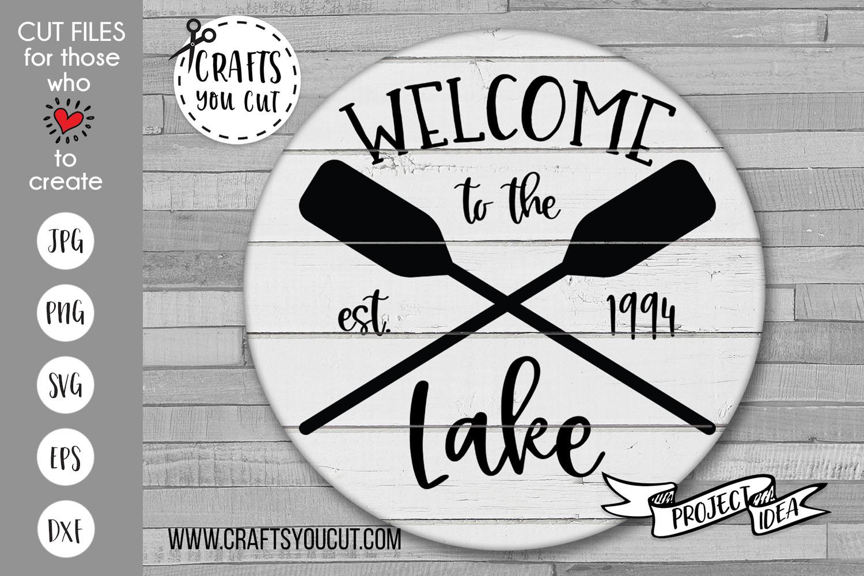 The Lake Bundle Vol. 2- A Summer/Lake SVG Cut File Bundle example image 2