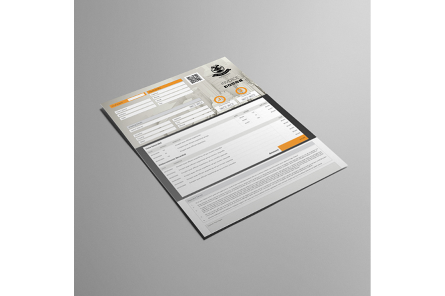 Business A4 Invoice Template example image 5