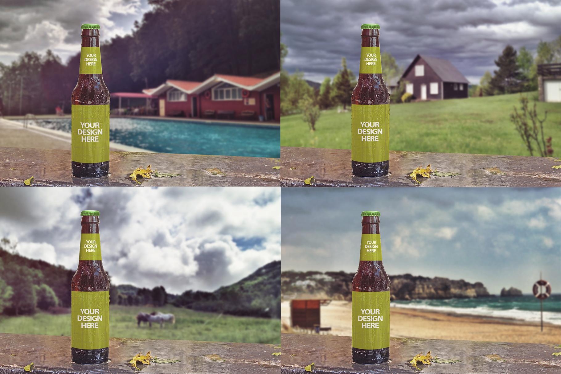 Raining Beer Backgrounds example image 4