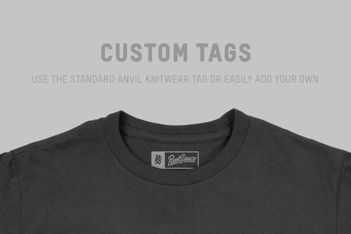 Anvil 990B Lightweight Youth T-Shirt example image 7