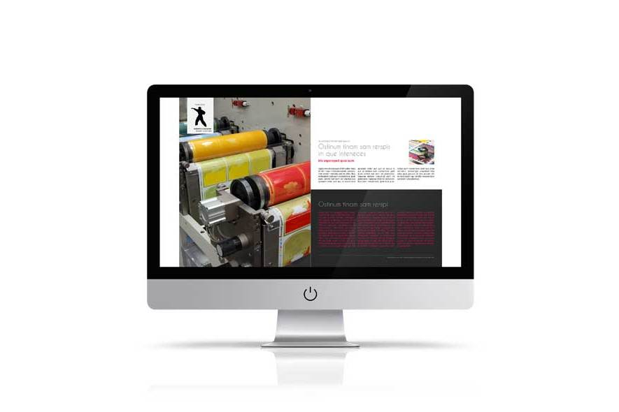 Business eMagazine Template example image 2