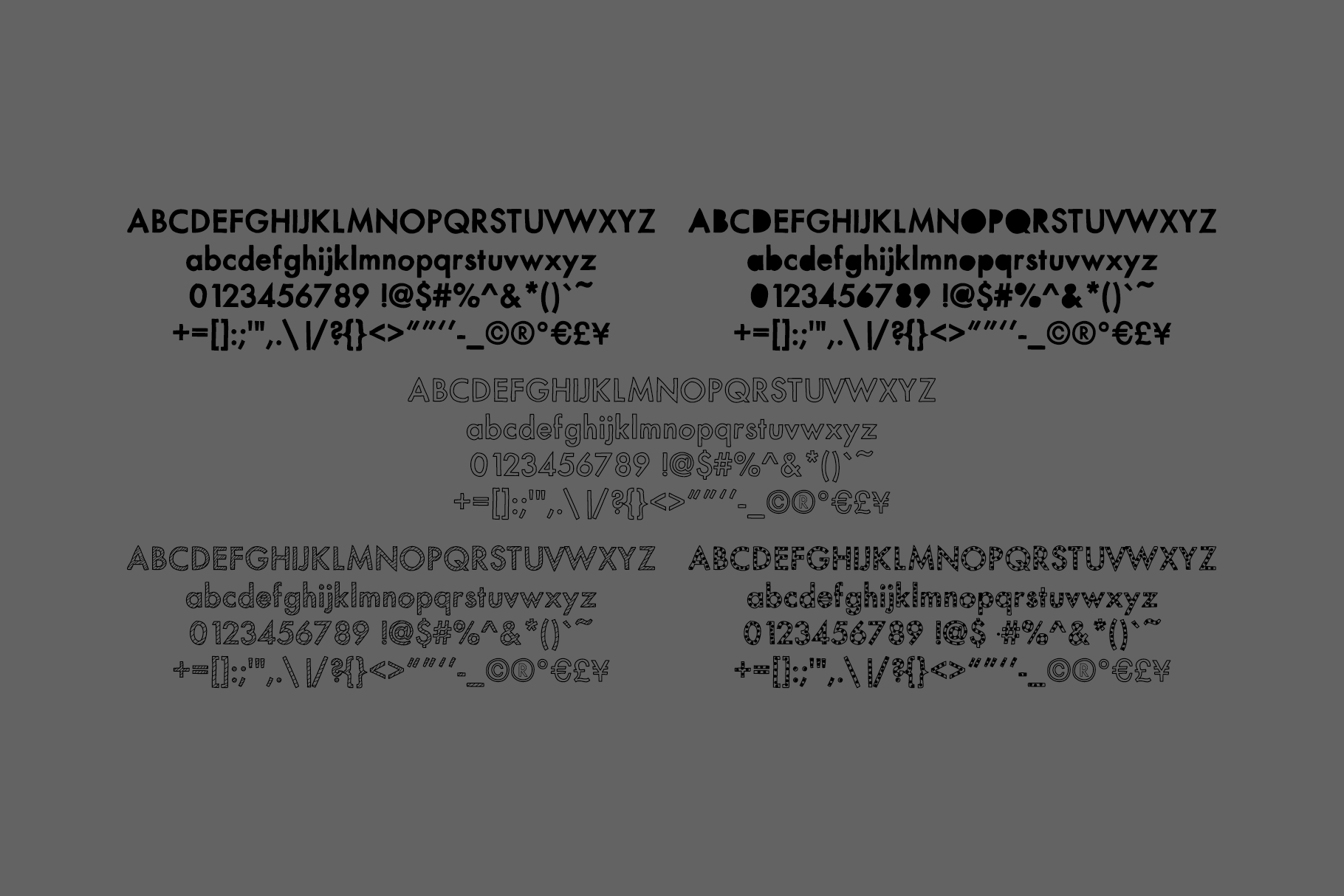 Mix Modern - A Layering Family of Fonts example image 8