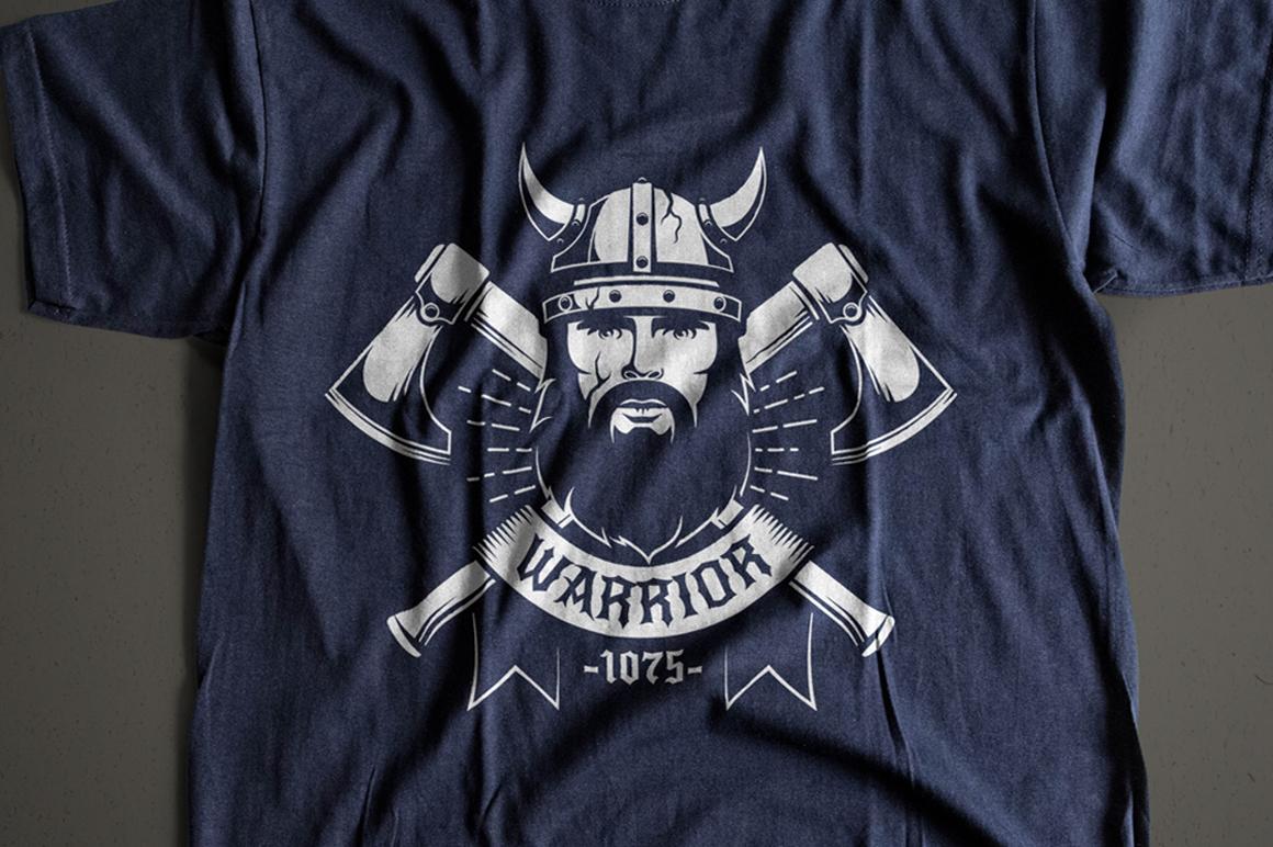 Viking Warrior Logo Template example image 3