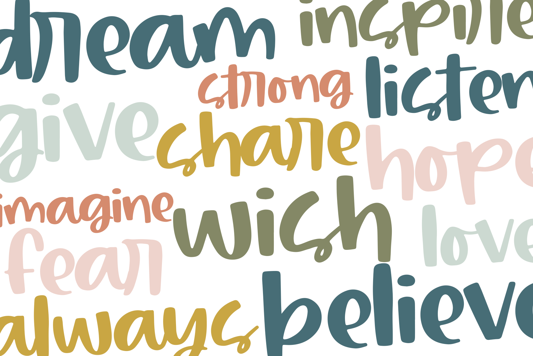 Primrose - Handwritten Script Font with Extras example image 10