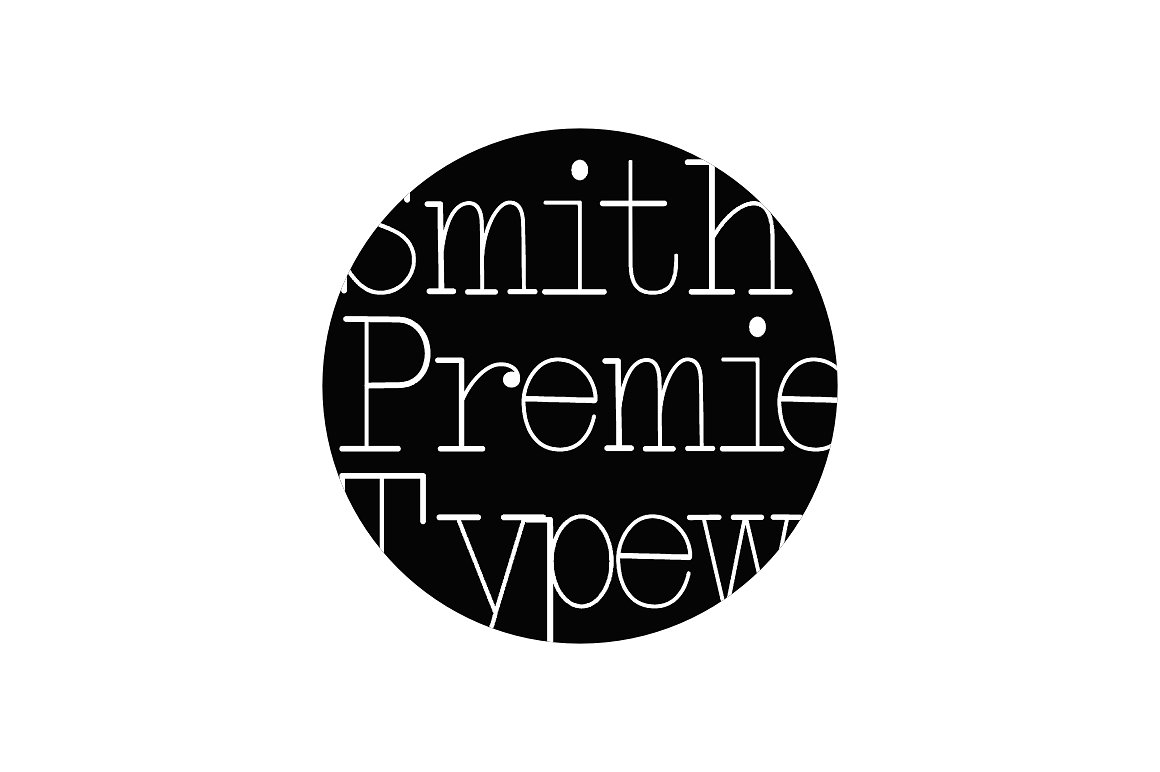 Smith-Premier Typewriter example image 1