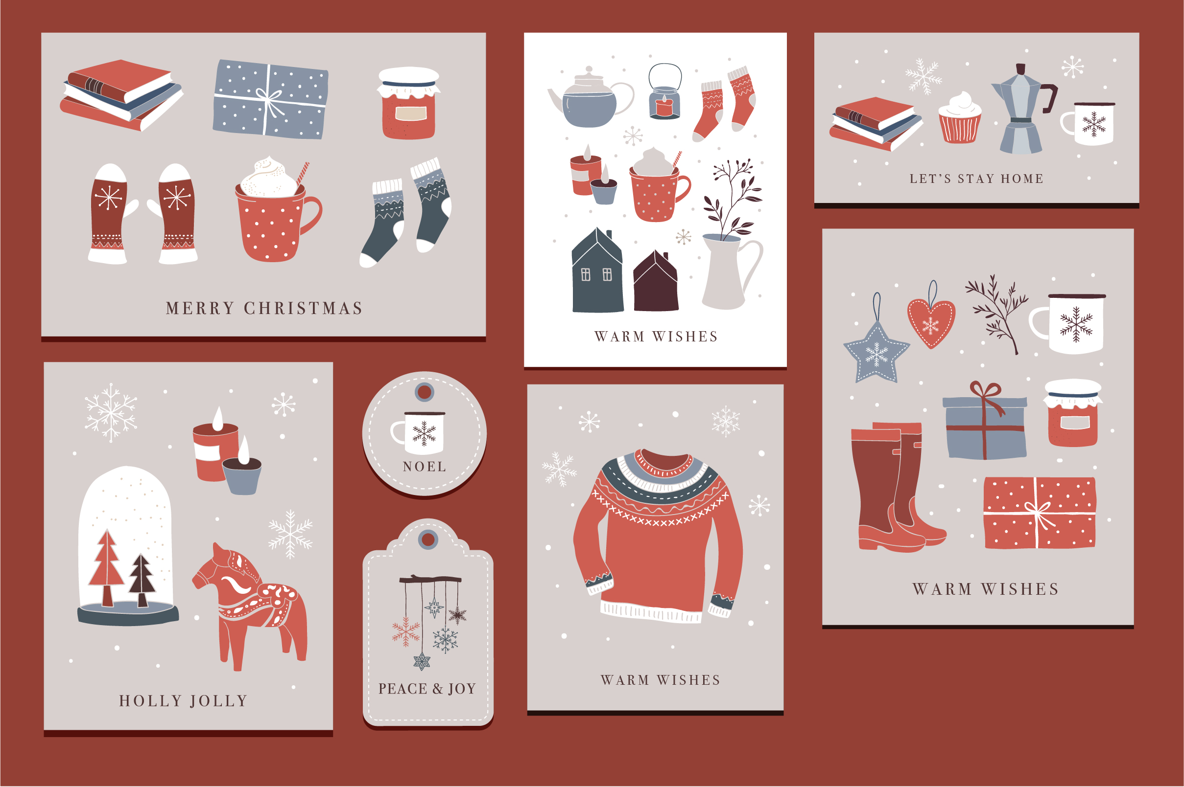 Nordic Christmas - winter collection example image 9