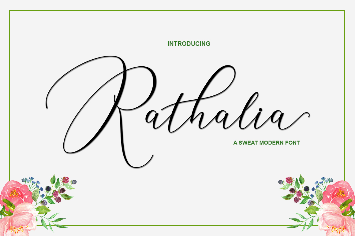 Rathalia example image 1