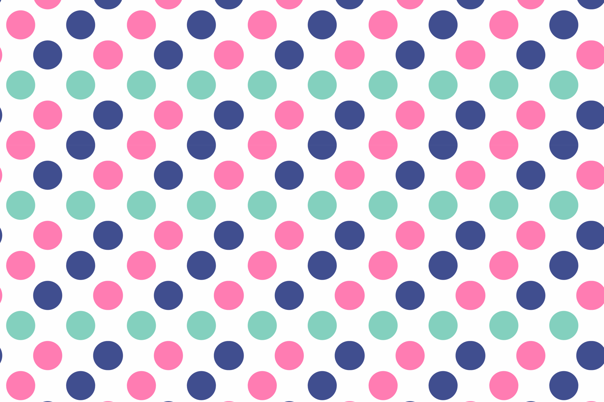 Color dotted memphis patterns. example image 2