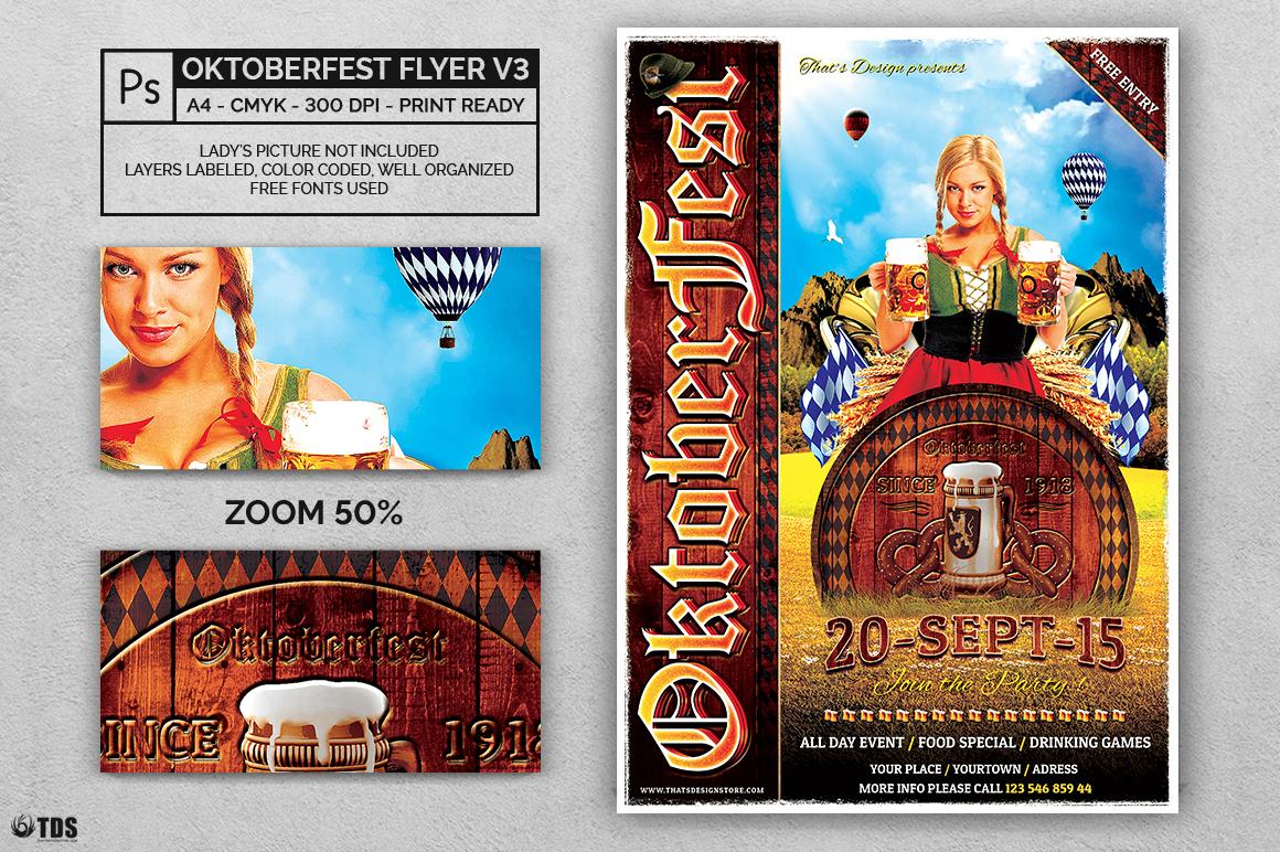 Oktoberfest Flyer Template V3 example image 2