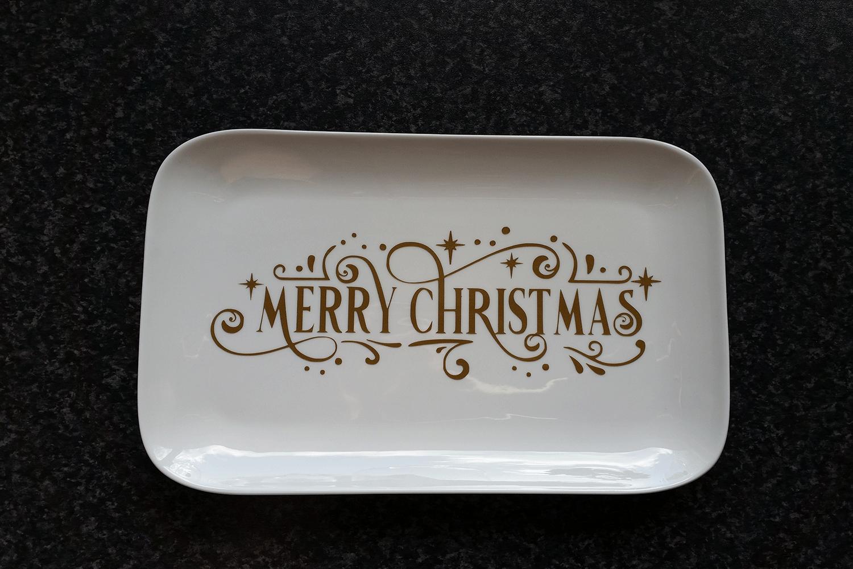Christmas Svg - Merry Christmas Farmhouse Vintage Sign example image 4