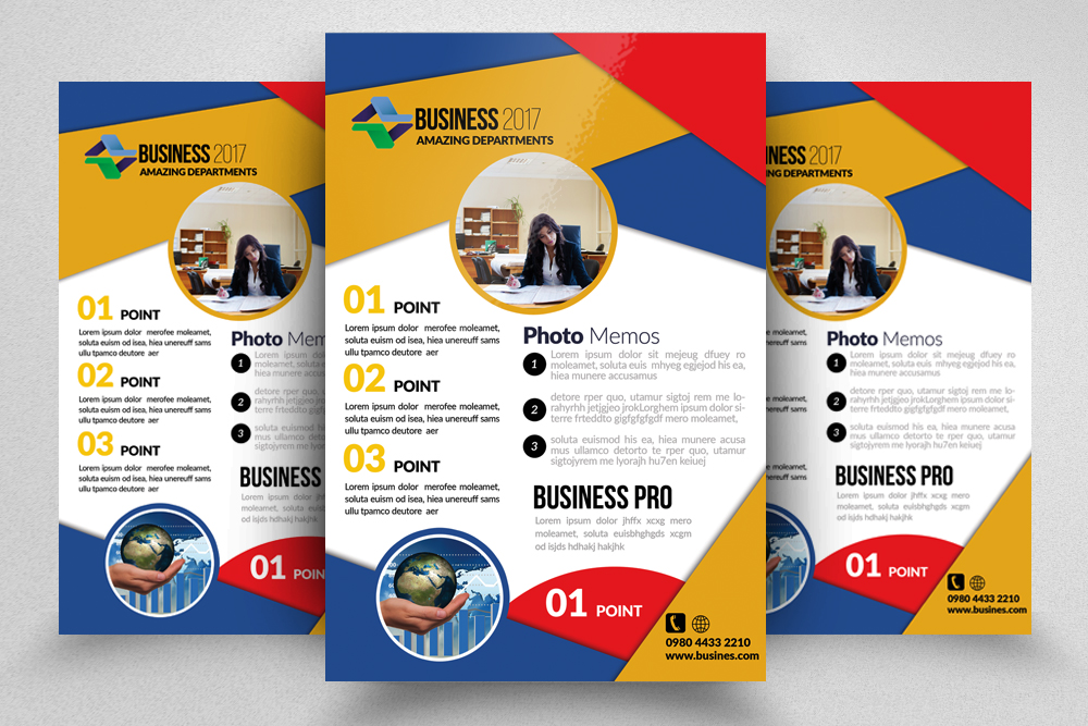 10 Multi Use Business Flyers Bundle example image 9