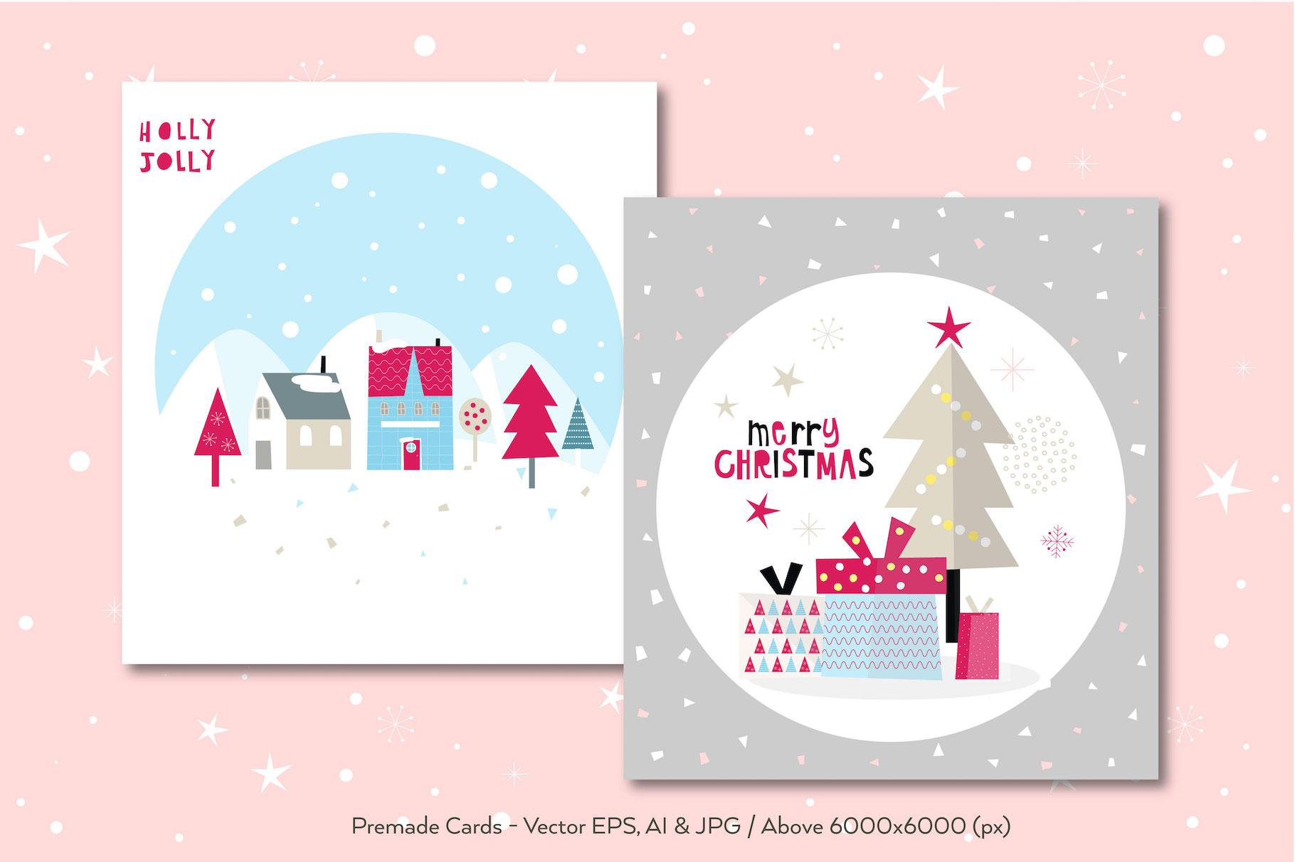 Happy Flat Holiday! Design Kit example image 5